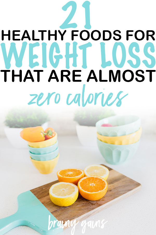 Whole foods are very nutritious and contain very little calories, meaning you can eat more, feel full, and still lose weight. These 21 zero calorie vegetables and fruits are a guide to the types of foods you should be adding to your diet for weight loss and wellbeing!