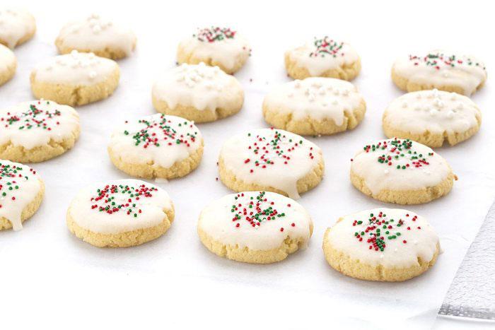 Italian Keto Christmas Cookies