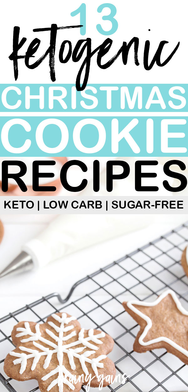 There's just something special about Christmas cookies, ya know? From frosted sugar cookies to gingerbread cookies and everything in between, nothing beats a homemade Christmas cookie, especially when they're low carb. Here are the best keto Christmas cookies to bake for the holidays this year.