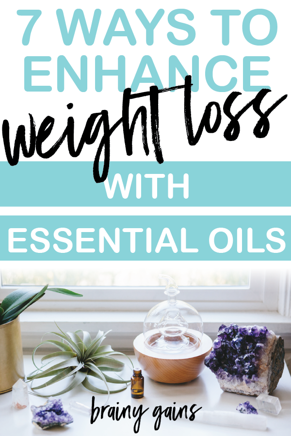 7 ways to enhance your weight loss journey with essential oils.