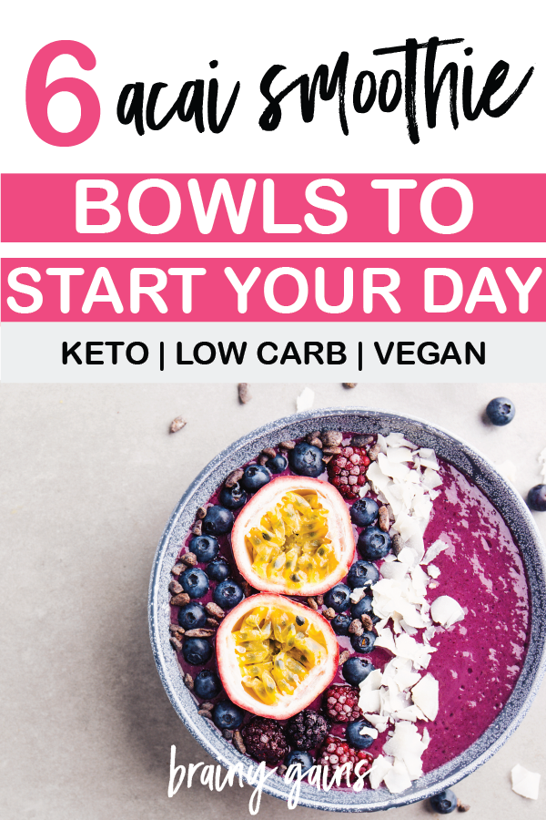 Here are 6 acai smoothie bowls to start your day the right way!