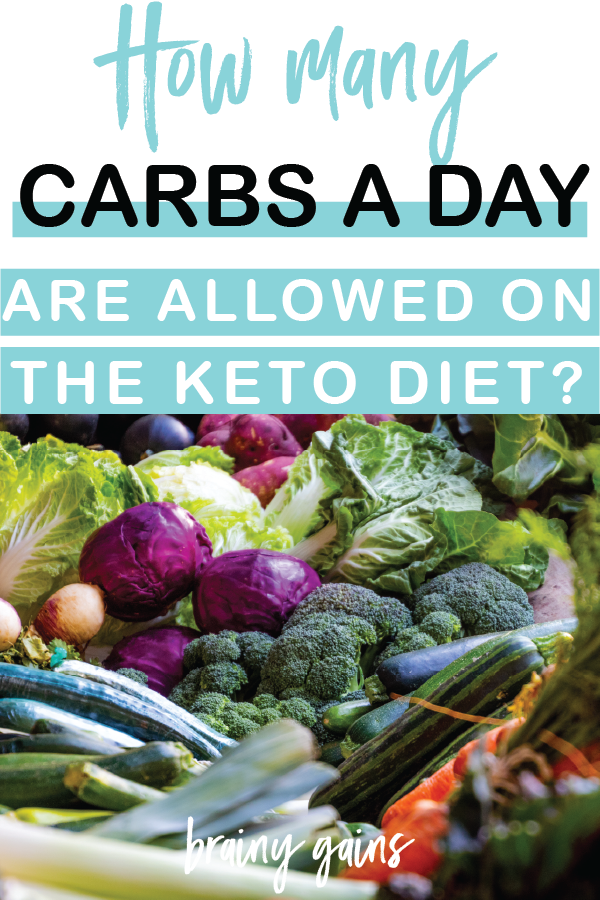 How many carbs on keto are allowed in a day?
